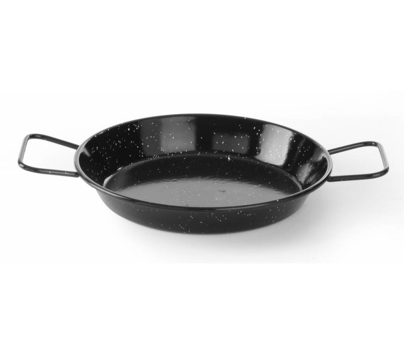 Hendi Emaillierte Paella-Pfanne 24 cm