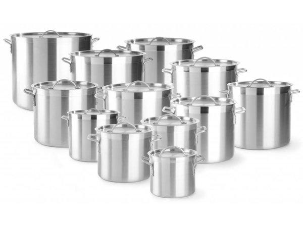 Hendi Casserole / Stockpot Aluminum - 5.5 Litre - CHOICE OF 12 SIZES