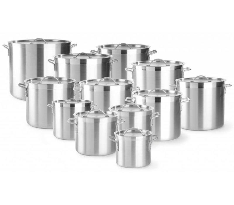 Hendi Casserole / Stockpot Aluminium - 5,5 Liter - Wahl der 12 GRÖSSEN