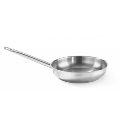 Hendi Stainless steel frying pan - CHOICE OF 3 SIZES
