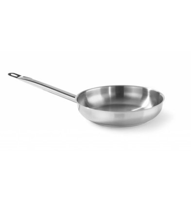 Hendi Stainless steel frying pan without lid - CHOICE OF 3 SIZES