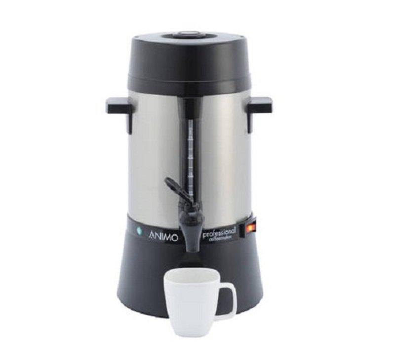 Animo Daalderop Percolator Animo | Hand Water Filling RVS | Ø212x (H) 385mm | 25 Cups | 3.2 Liter