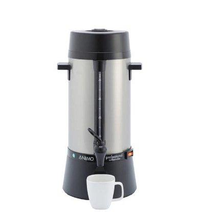 Animo Daalderop Percolator Animo | Hand Water Filling RVS | Ø212x (H) 460mm | 40 Cups | 5 Liter