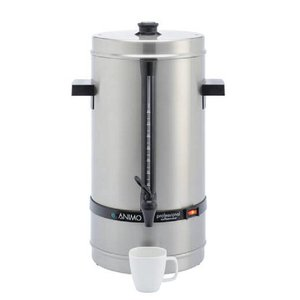 Animo Daalderop Percolator Animo | Hand Water Filling RVS | Ø250x (H) 525mm | 80 Cups | 10 Liter