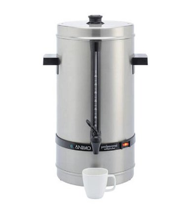 Animo Daalderop Percolator Animo | Manual water filling stainless steel Ø250x (H) 525mm | 80 cups 10 liters