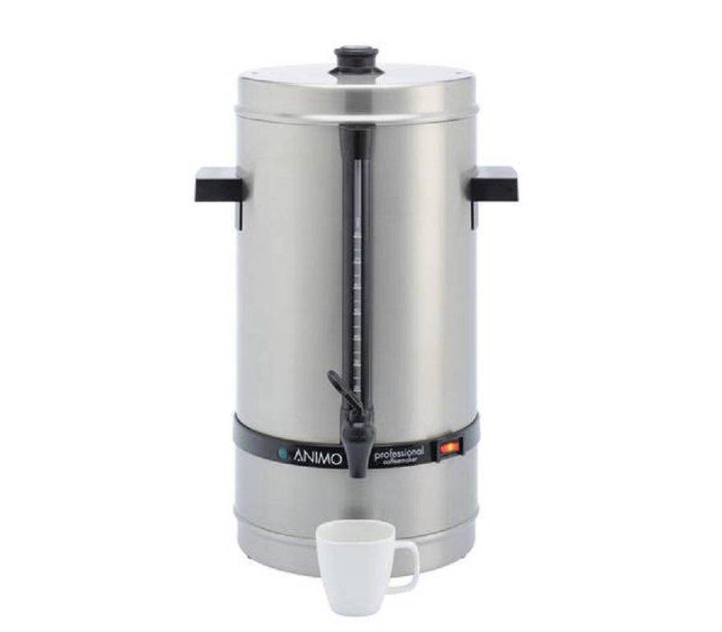 Animo Daalderop Percolator Animo | Hand Wasserfüllung RVS | Ø250x (H) 525mm | 80 Cups | 10 Liter