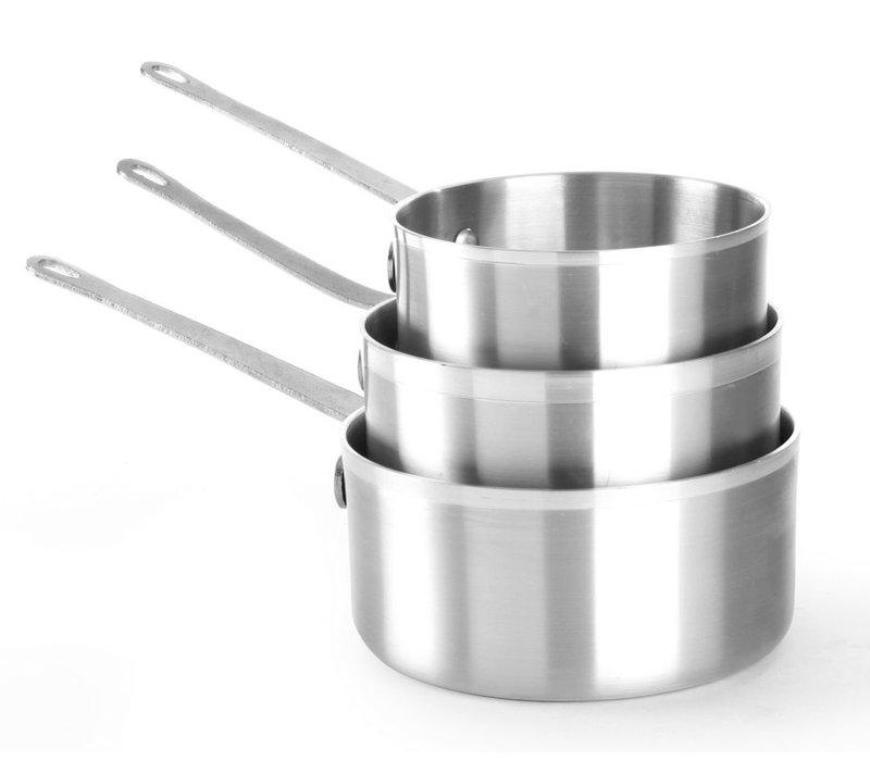 Hendi Saucepan 1 Liter 160x80 mm | aluminum