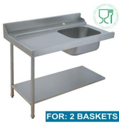 Diamond Für Sink Links | 1200x715x850 / 1000 (h) mm
