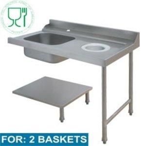 Diamond Für Sink Rechts | 1200x715xh850 / 1000mm