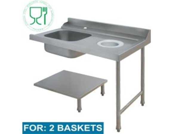 Diamond For Sink Right | 1200x715xh850 / 1000mm