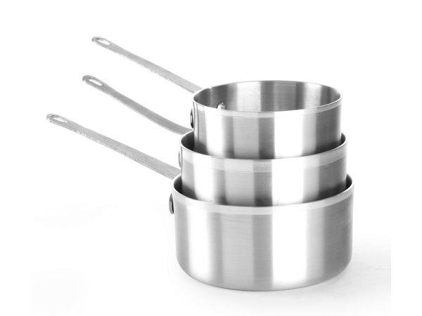 Hendi Kochtopf 1,5 Liter 180x90 mm | Aluminium
