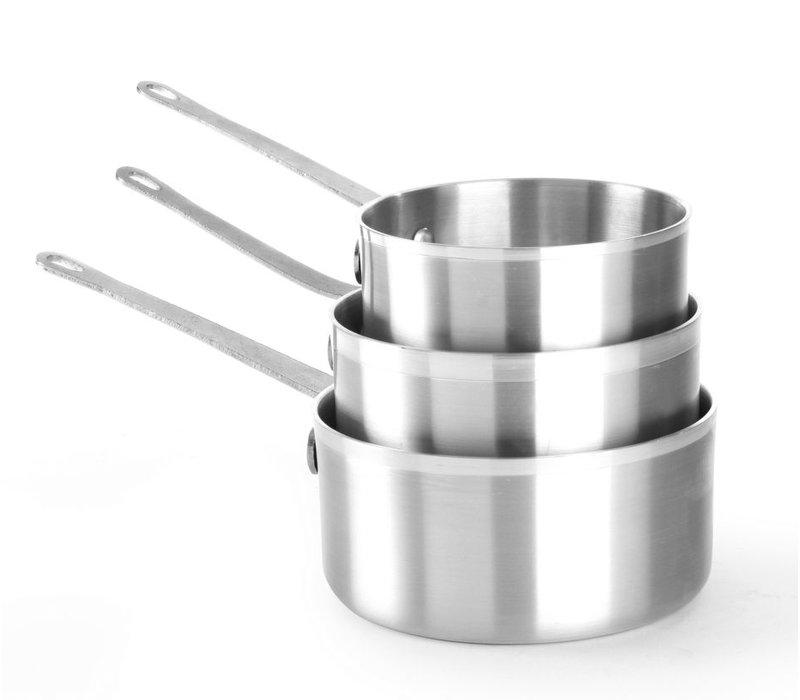 Hendi Saucepan 1.5 Liter 180x90 mm | aluminum