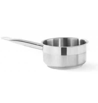 Hendi Stainless steel saucepan Low 180x80 mm   Without Lid   2 liter