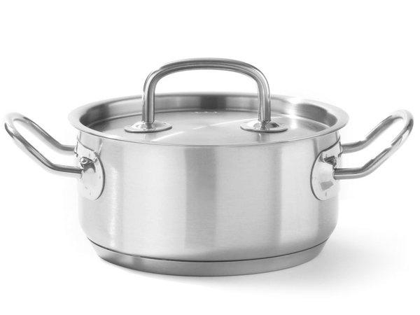 Hendi Casserole / Stockpot rostfreiem Schichtenmodell - 1,5 Liter - AUSWAHL 5 Größen