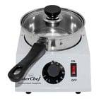 Caterchef Chocolate / Sauce Warmer 1 Pans | SS | 30/80 ° C | 17x23x (H) 11cm
