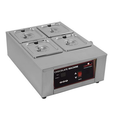 Caterchef Chocolate / Sauce Warmer 2/3 GN | Stainless steel | Digital Control | 49x36x (H) 18cm