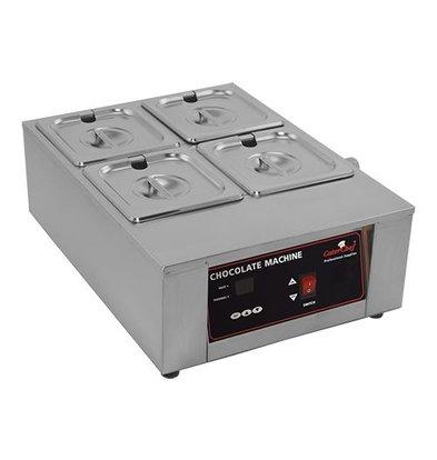 Caterchef Schokolade / Sauce Warmer 2/3 GN | Edelstahl | Digital Control | 49x36x (H) 18cm