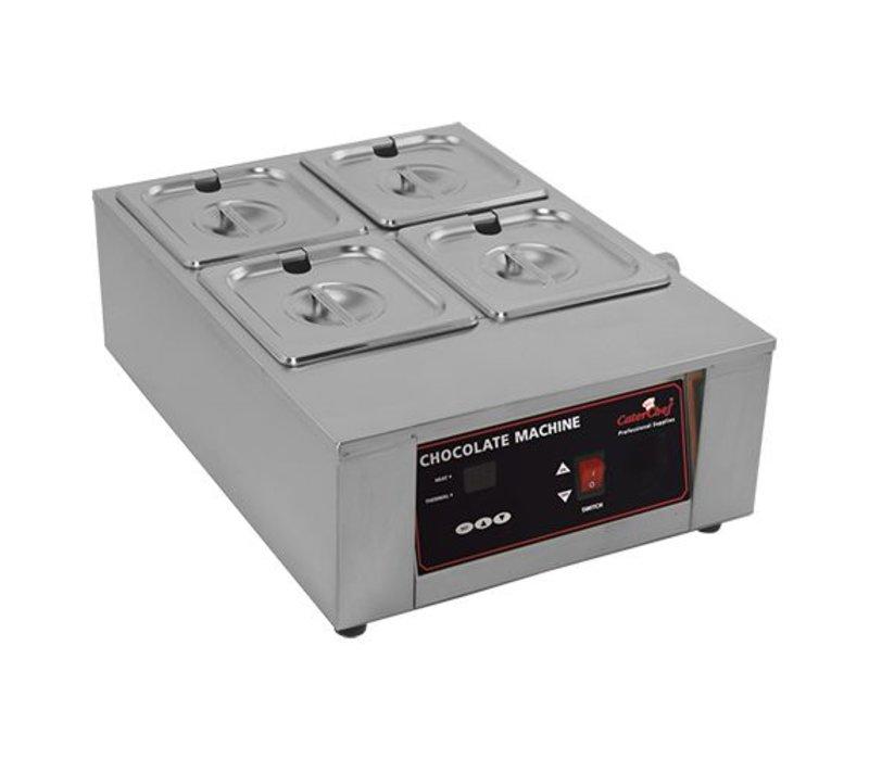 Caterchef Chocolade / Sauzen Warmer 2/3 GN   RVS   Digitaal Bedieningspaneel   49x36x(H)18cm