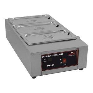 Caterchef Schokolade / Sauce Warmer 1/1 GN | Edelstahl | Digital Control | 67x36x (H) 18cm