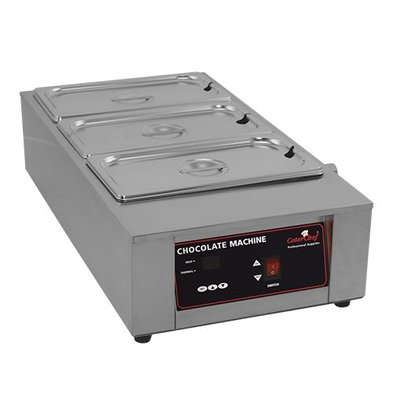 Caterchef Schokolade / Sauce Warmer 1/1 GN | SS | Digitale Systemsteuerung | 67x36x (H) 18cm