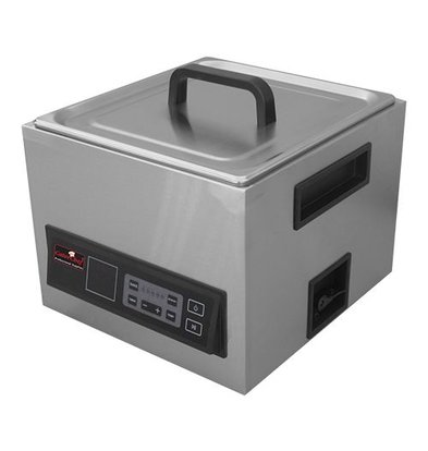 Caterchef Sous Vide 2/3GN | RVS | Incl. Deksel en 2 Handgrepen | Digitale Thermostaat 30/90Cº