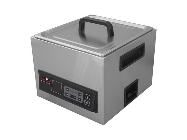 Caterchef Sous Vide 2 / 3GN   Stainless steel   Incl. Cover and two handles   Digital Thermostat 30 / 90Cº