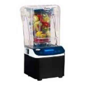 Santos Super Santos Blender | Metall-Motor | Glass 2 Liter Mixer | LCD-Display | 22x25x (H) 44cm