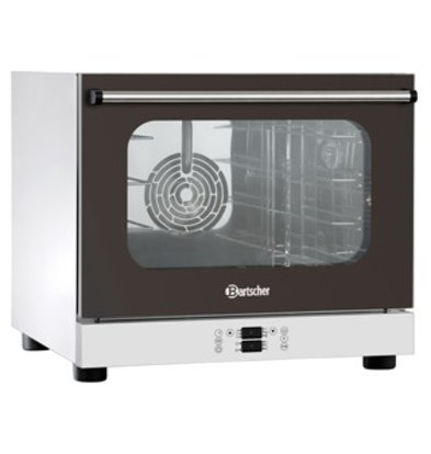 Bartscher Convection Oven with Steam Function | Fixed Water | Lighting | 600x720x (H) 540mm