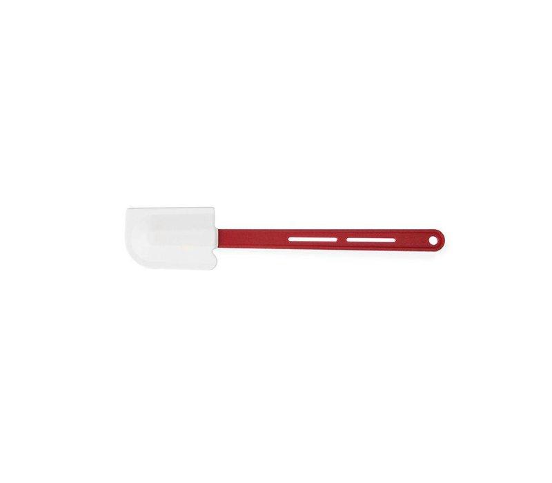 Hendi Spachtel Elveo | mit rotem Griff | Bis zu 260 Gramm | 70x115x (L) 350 mm