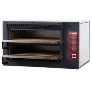 Diamond Pizza-Ofen Ladungsdoppel | 7,5 kW | 920x760x (H) 530mm