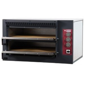 Diamond Pizza Oven Elektrisch Dubbel | 7,5kW | 920x760x(H)530mm