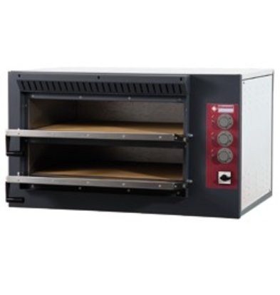 Diamond Pizza Oven Electric Double | 7.5kW | 920x760x (H) 530mm