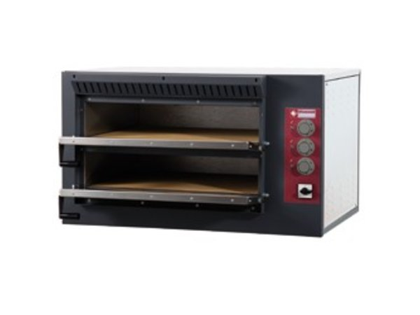 Diamond Pizza Oven Electric Double   7.5kW   920x760x (H) 530mm