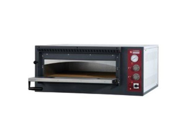 Diamond Pizzaofen Elektro Single | 6 Pizzen Ø33cm | 980x1210x (H) 420mm