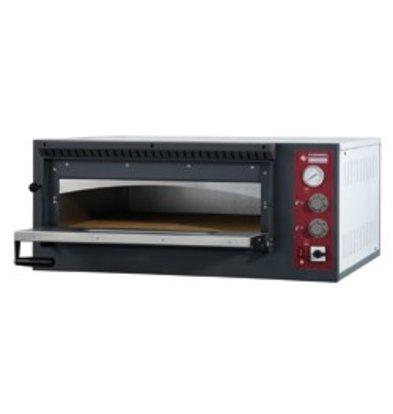 Diamond Pizza Oven Elektrisch Enkel | 4 Pizza's Ø33cm | 980x930x(H)420mm