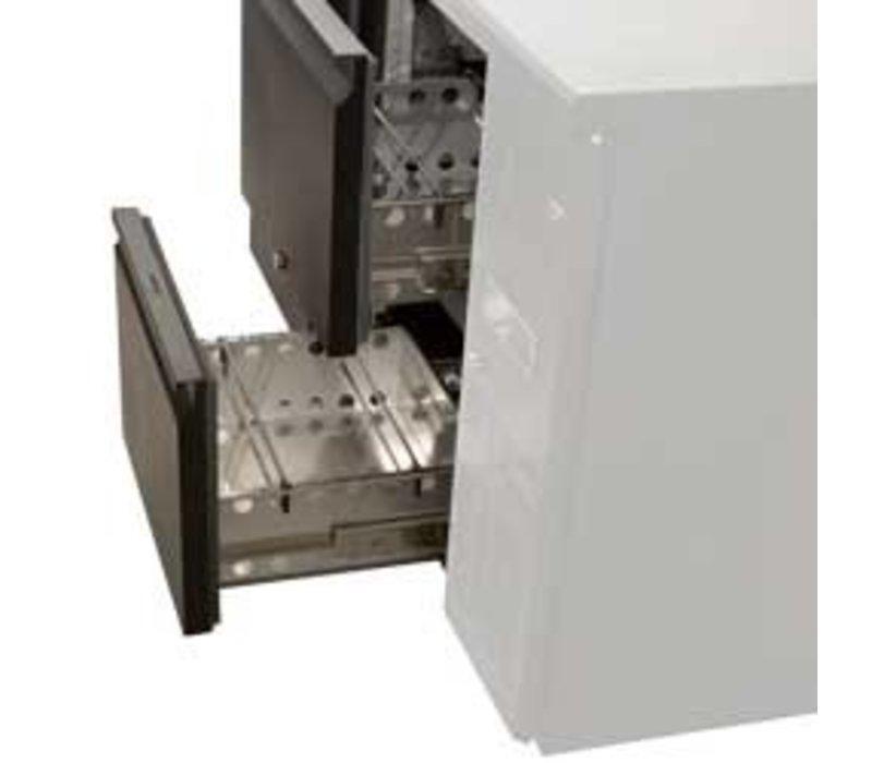 Diamond Flaschen Kühlschrank | Bestehend 1xTAV-B4 / D + 2xT12 / D | 2 Schubladen
