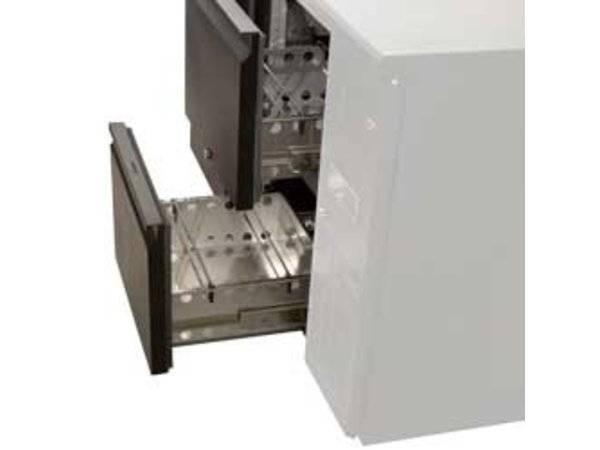 Diamond Flaschenkühler | TAV-B4 / D + 3XT1 / 2 / D | Inkl. 3 Schubladen | 2542x513x (H) 860mm