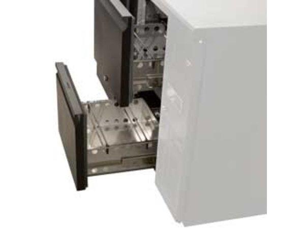 Diamond Flaschenkühler mit zwei Laden | 2542x513x (H) 860mm
