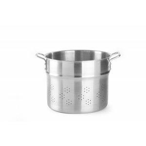 Hendi Rijststomer inzet 320x270 mm | 13 Liter aluminium