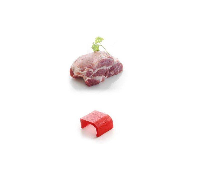 Hendi Clips HACCP red