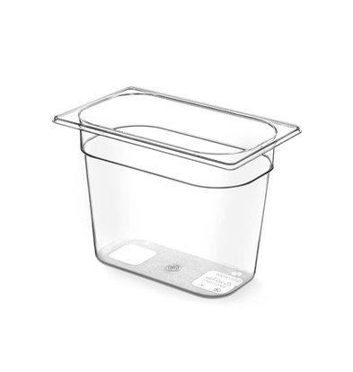 Hendi Gastronormbak 1/4 - 150 mm - Tritan BPA vrij