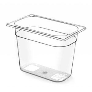 Hendi Gastronormbak 1/4 - 100 mm - BPA-frei Tritan