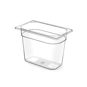 Hendi Gastronormbak 1/4 - 65 mm - Tritan BPA vrij