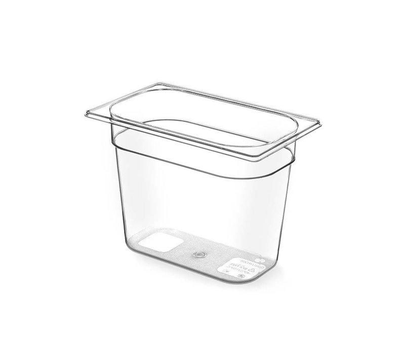 Hendi Gastronormbak 1/4 - 65 mm - BPA-free Tritan