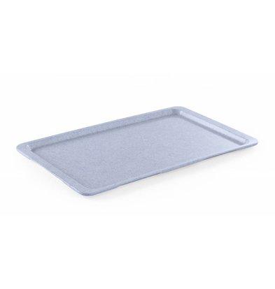 Hendi Dienblad Graniet | HEAVY DUTY Kunststof | Breukbestendig | GN 1/2 325x265mm