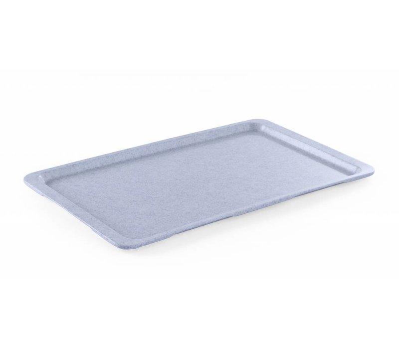 Hendi Tray Granit   HEAVY DUTY Kunststoff   Bruchfest + Anti-Rutsch-Beschichtung   GN 1/2 325x265mm