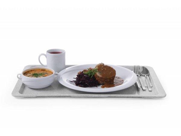 Hendi Hospitality Tablett | Granit | HEAVY DUTY polyform + Anti-Rutsch | GN 1/1 | 530x325 mm