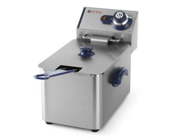 Hendi fryer | Hendi 205 808 Blueline | 4 Liter | 3kW | 217x400x (H) 290mm