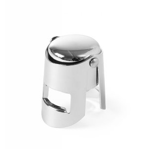 Hendi Champagne stopper - chroomstaal