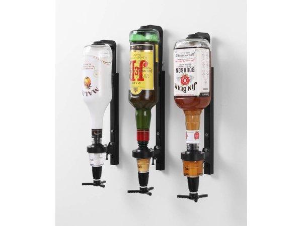 Hendi Bottle Holder Bracket Shelf Mounting Non-Drip - plastic